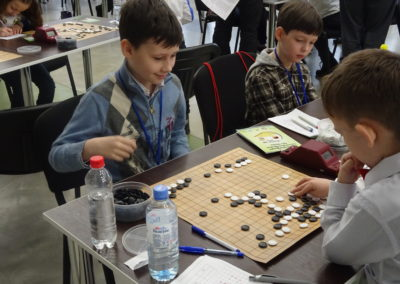 Antoni Bugaj vs. Ruslan Tarasov, European Youth Go Championship, Kyiv 2018