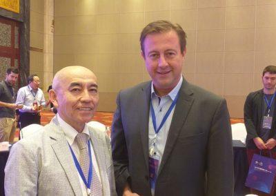 Masaki Takemiya & Robert Bugaj, 3rd Chinese Go Congress, Rizhao 2019